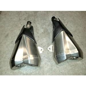 Auspuff Schalldämpfer links & rechts Kawasaki Z1000 ZRT00F