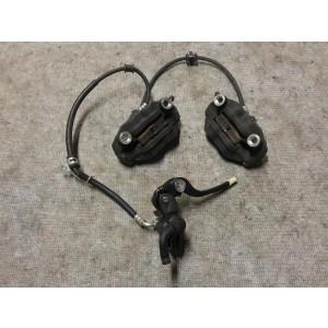 Bremszangen Bremssättel vorne + Bremspumpe radial Suzuki GSXR 750 K8 K9 L0