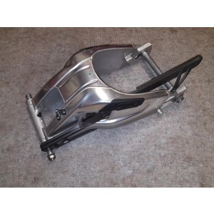 Schwinge Hinterradschwinge BMW S1000R S1000RR K46 K47 DDC silber eloxiert